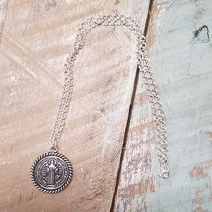 St. Benedict pendant necklace